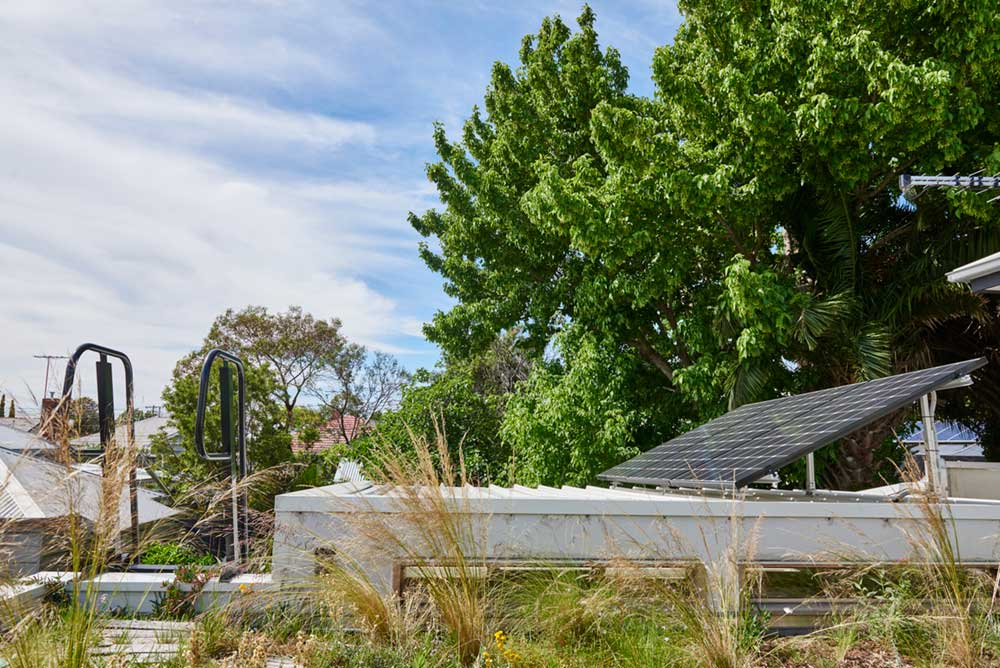 sustainable cottage green roof 2 - Melbourne Vernacular