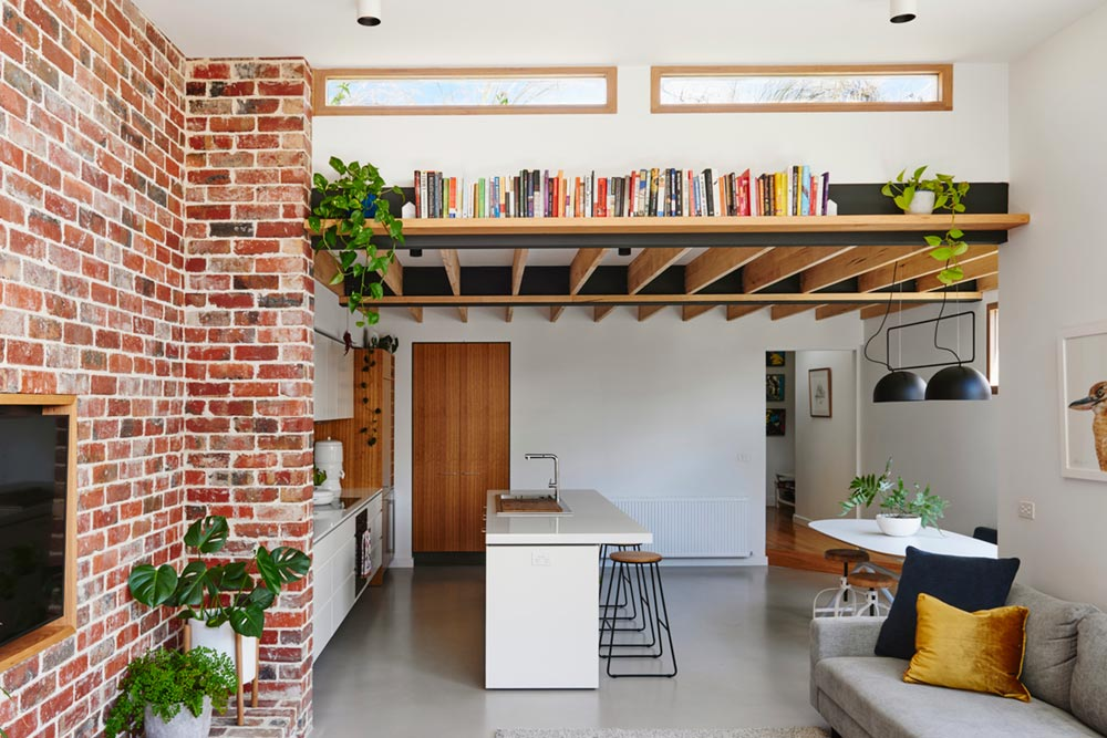 sustainable cottage kitchen design - Melbourne Vernacular