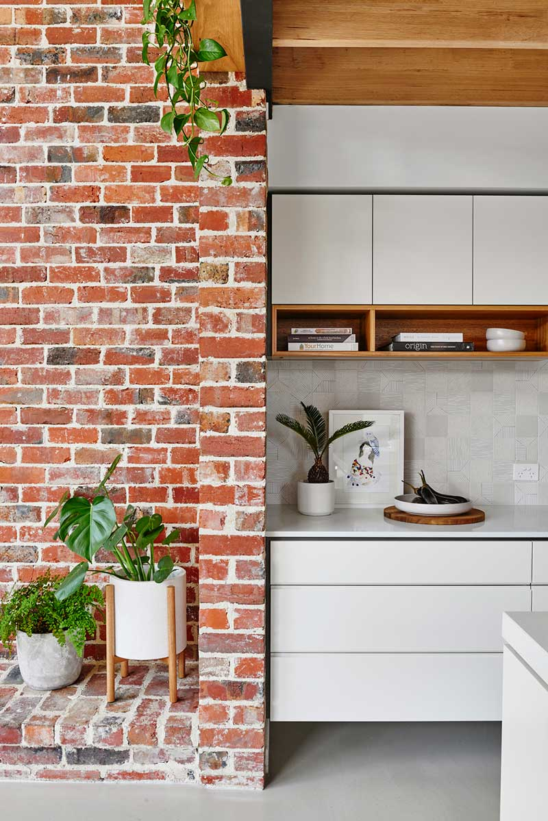sustainable cottage wood brick design - Melbourne Vernacular
