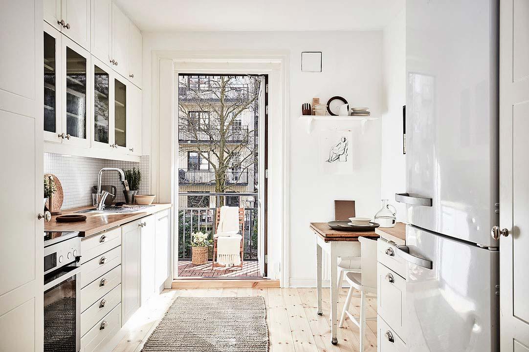 swedish apartment design 2 - Charming 20th Century Apartment