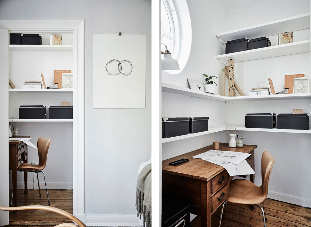 swedish apartment design 3 - Charming 20th Century Apartment