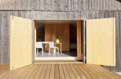 Chalet B47 Designed As A Swiss Army Knife Small Spaces