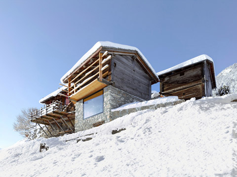 Boisset House Capturing The Alps In A Tiny Chalet