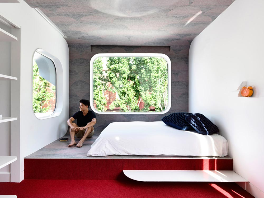terrace house extension bedroom ama - King Bill Residence