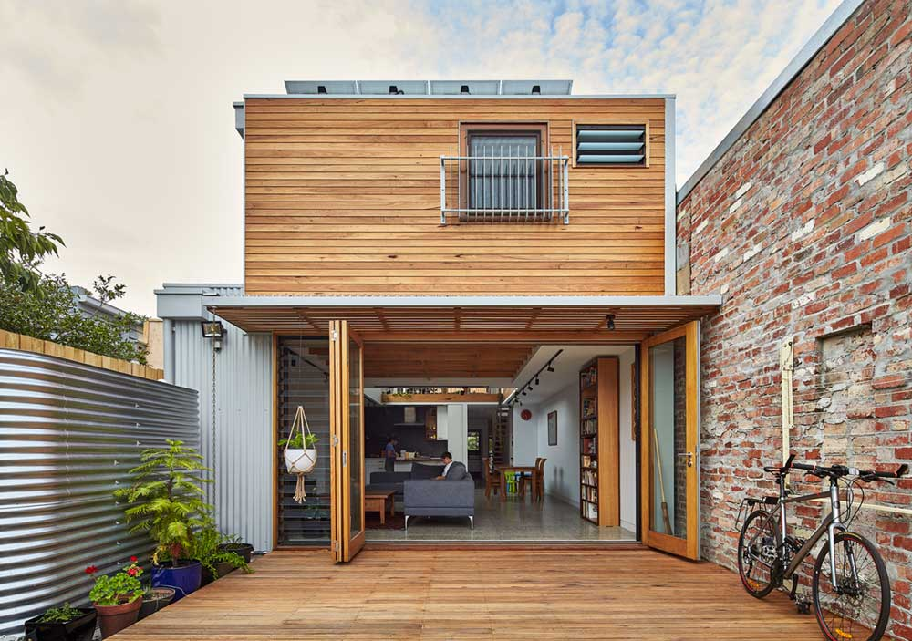 terrace house extension exterior bc - Beyond House