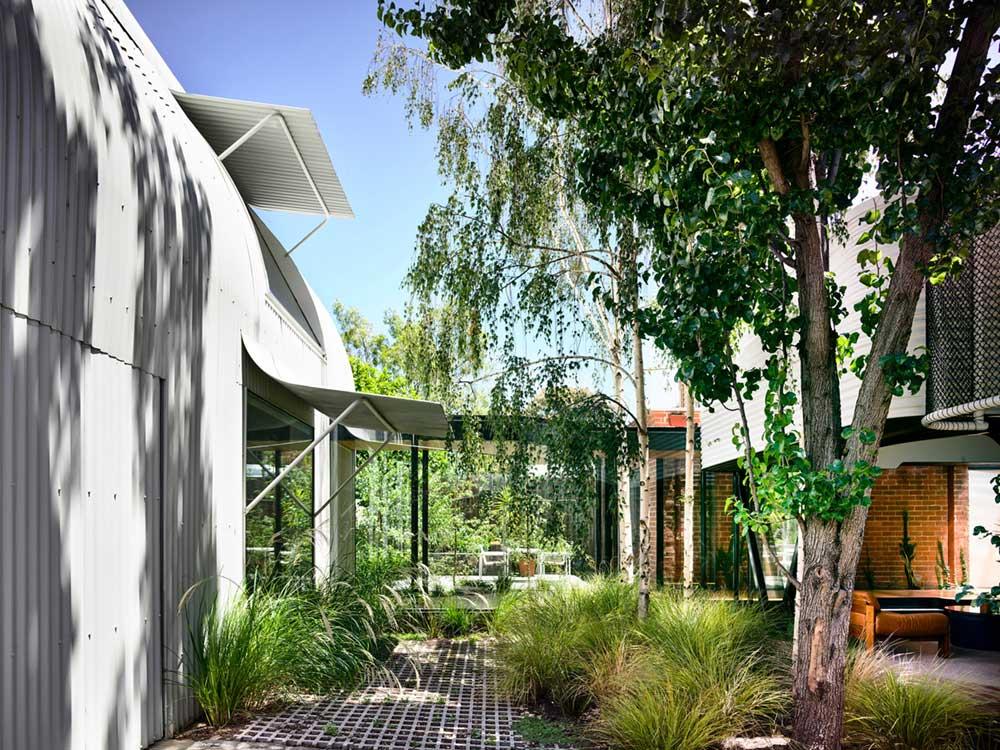 terrace house extension garden ama - King Bill Residence