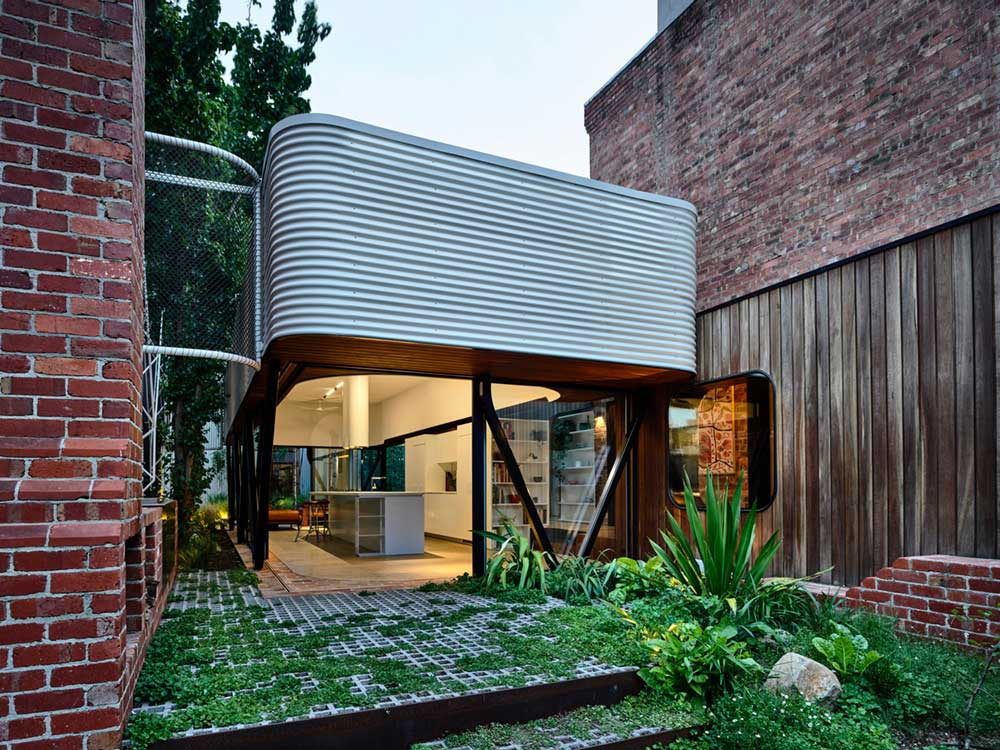 terrace house extension kitchen ama - King Bill Residence