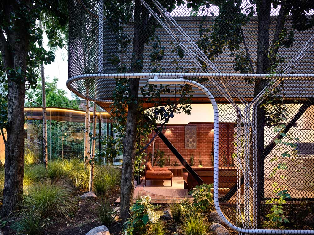 terrace house extension outdoor ama - King Bill Residence