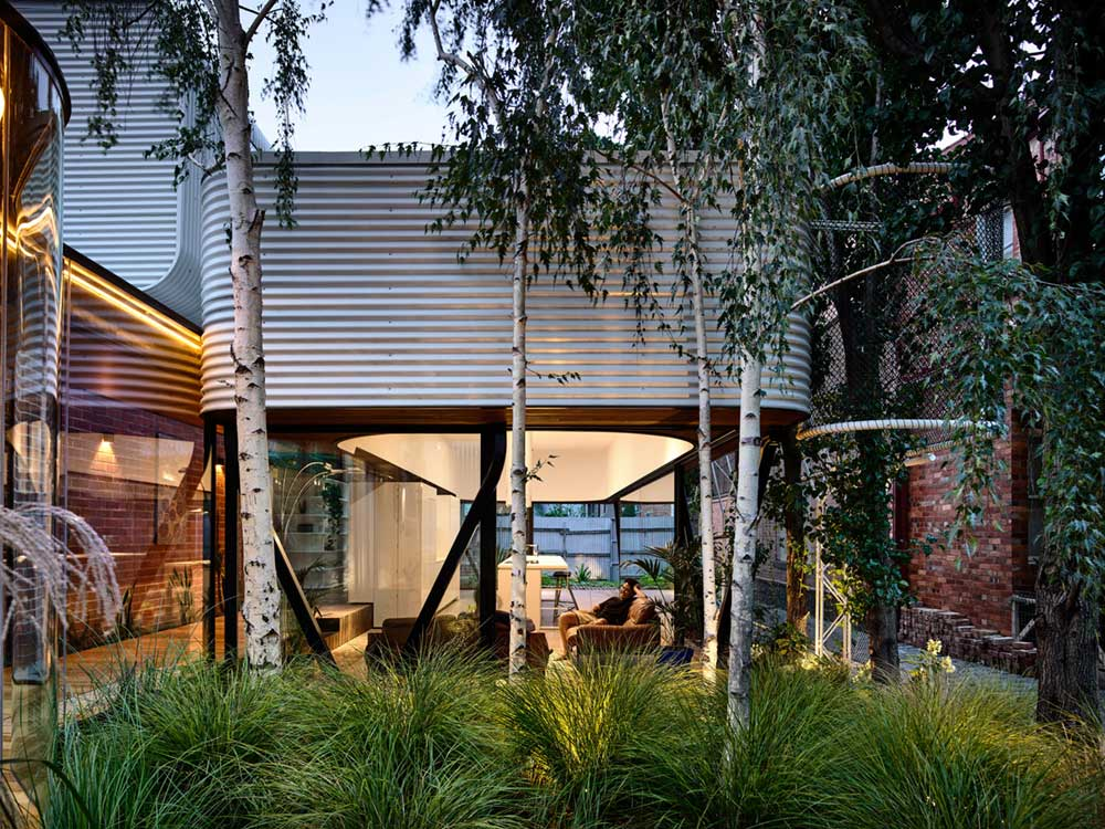 terrace house extension outdoor ama2 - King Bill Residence