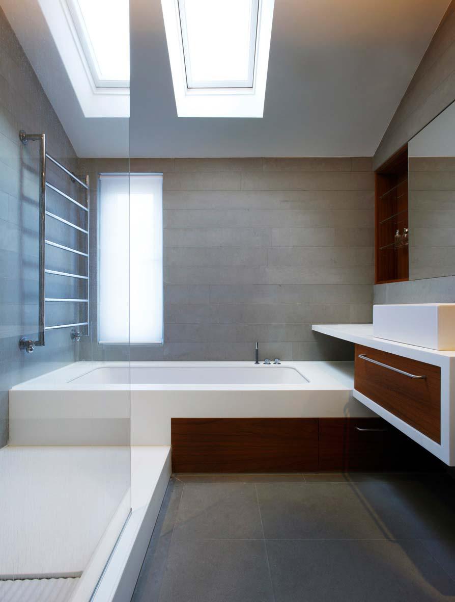 terraced house bathroom design tba - Elm Grove Terraced House