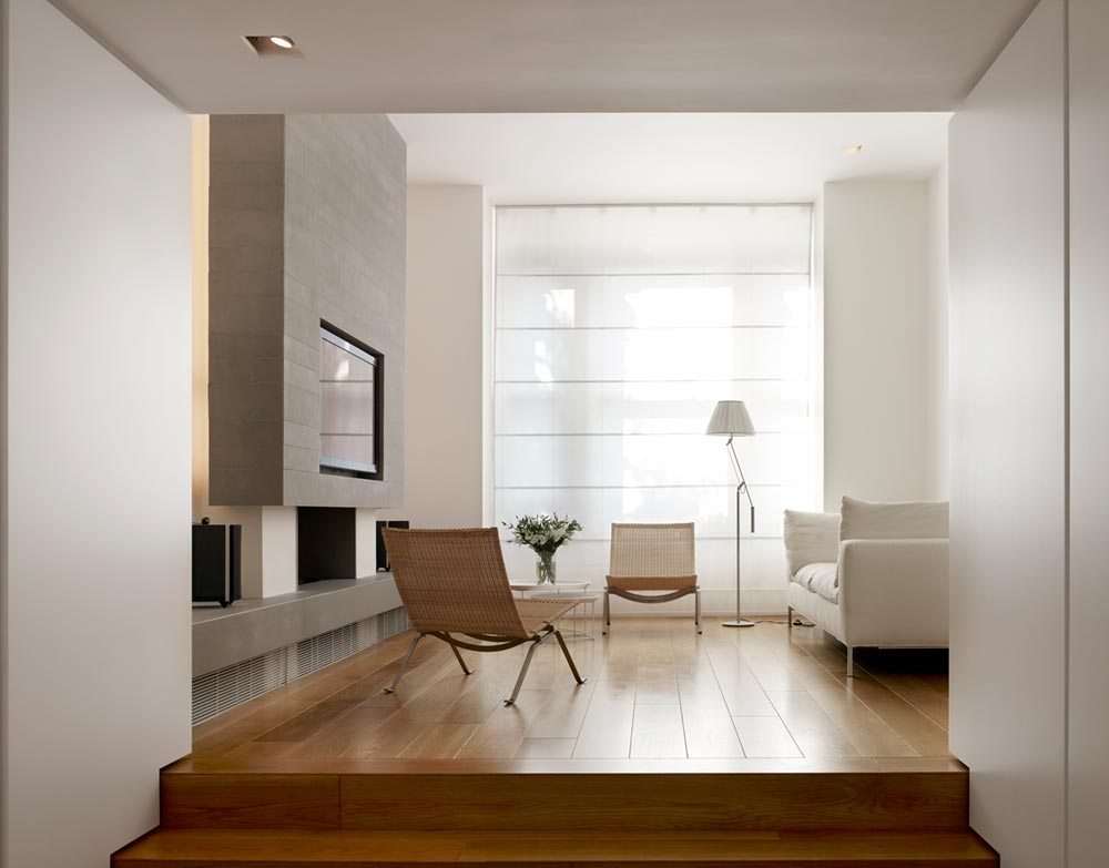 terraced house living room design tba - Elm Grove Terraced House