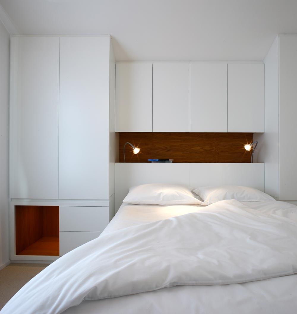 terraced house master bedroom design tba - Elm Grove Terraced House