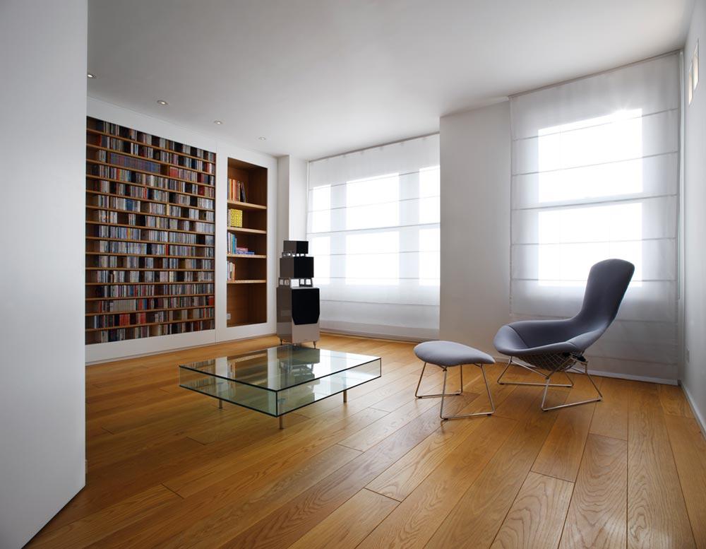 terraced house reading nook design tba - Elm Grove Terraced House