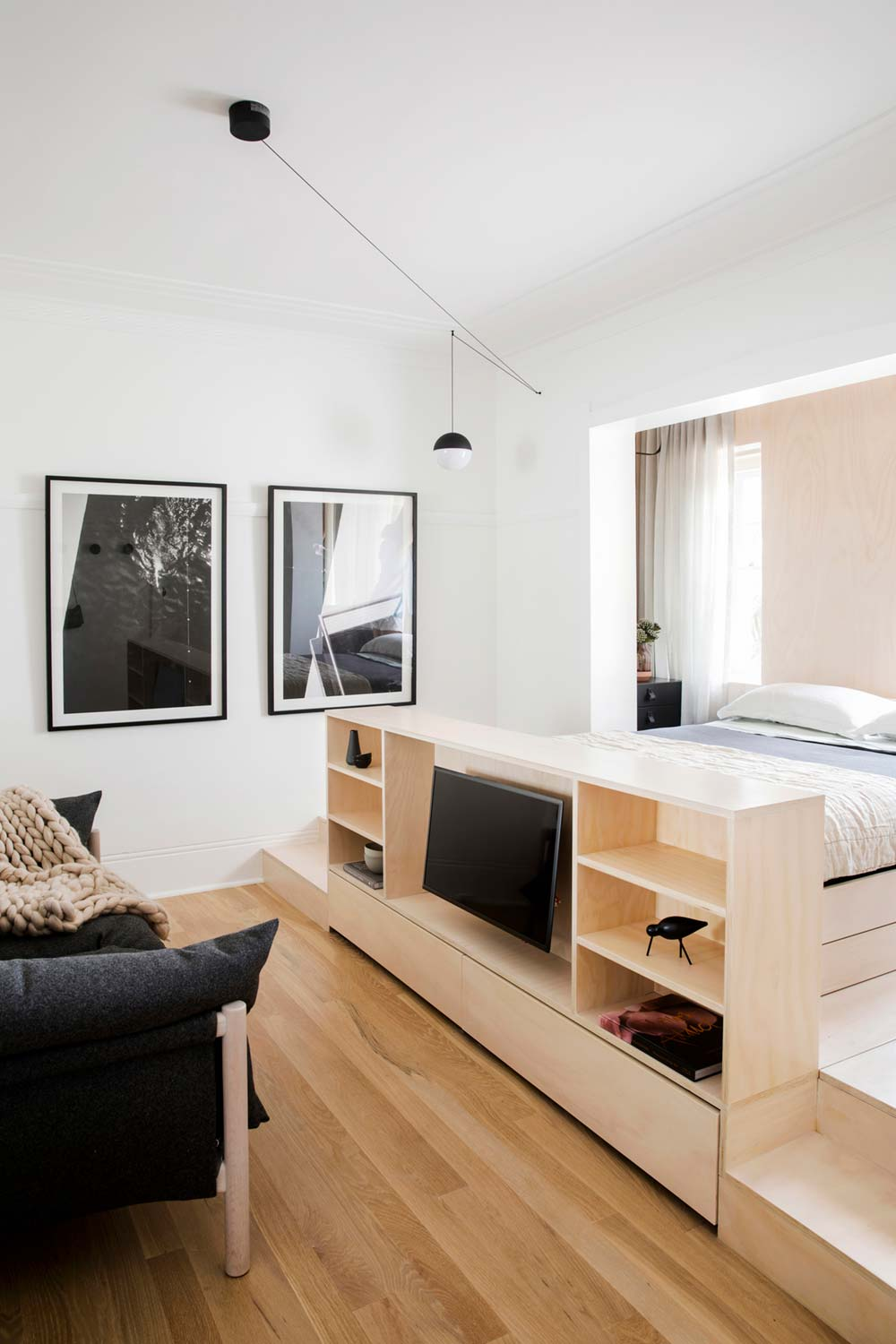 Tiny Apartment Design In Sydney Au Full Of Smart Storage
