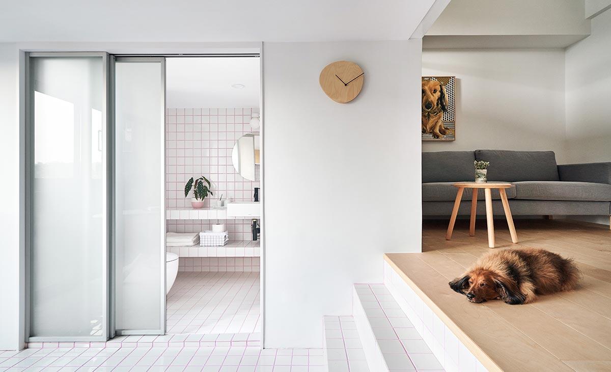 tiny apartment design bathroom - Tiny XS House Border
