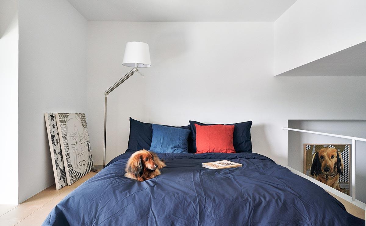 tiny apartment design bedroom - Tiny XS House Border