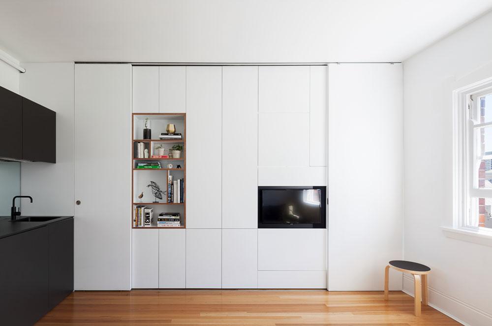 tiny apartment design bsa - Darlinghurst Apartment