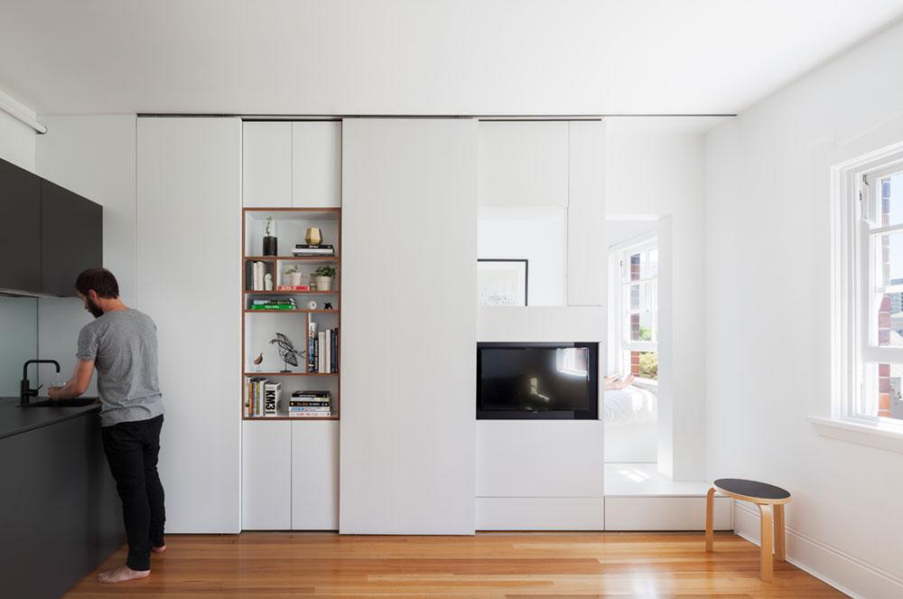 tiny apartment design bsa1 - Darlinghurst Apartment