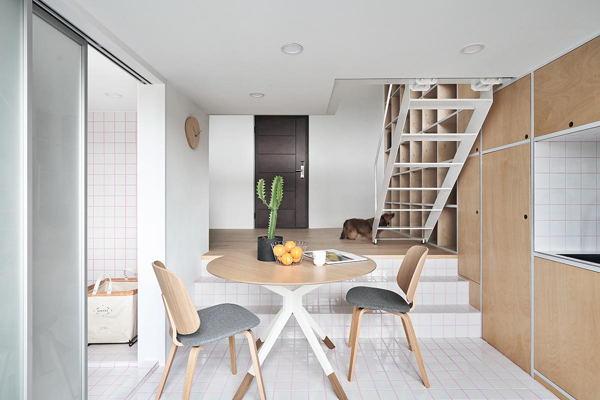 tiny apartment design dining - Tiny XS House Border