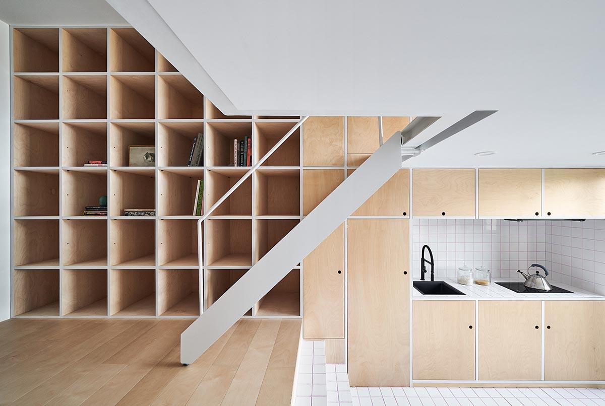 tiny apartment design kitchen - Tiny XS House Border