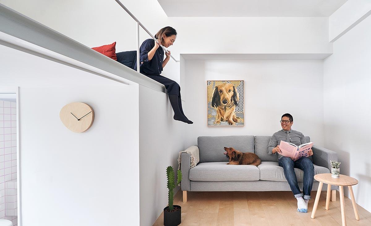 tiny apartment design living - Tiny XS House Border