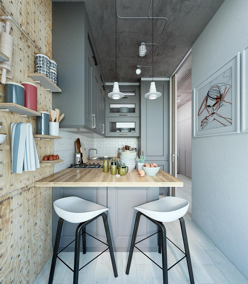 Apartment For: How To Do Wonders With 24 Sq M