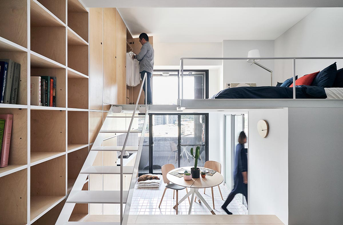 Extra Small 33 Sqm Apartment Design Smart Stylish Living In Taipei