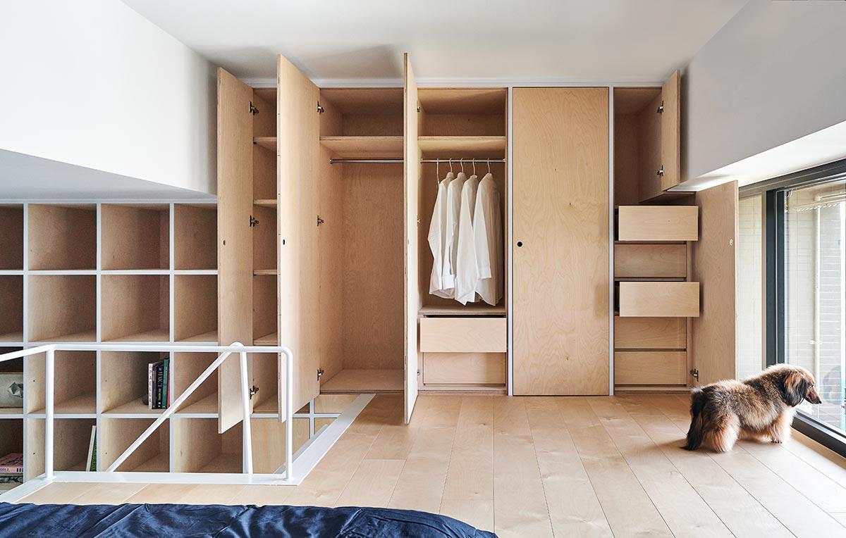 tiny apartment design storage - Tiny XS House Border