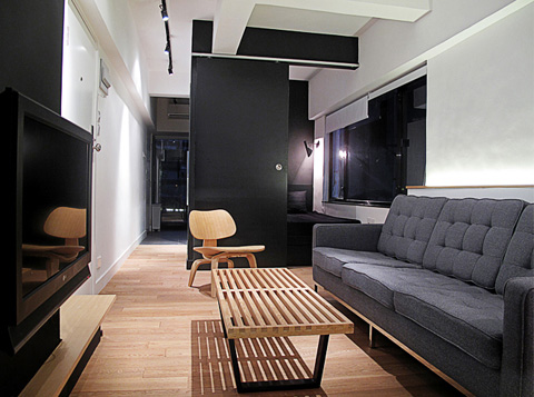 Tiny Apartment In Hong Kong Space Invaders Small Spaces