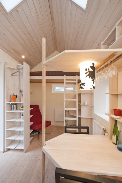 Student micro flat small is the new big small houses for Apartment design guide part 2
