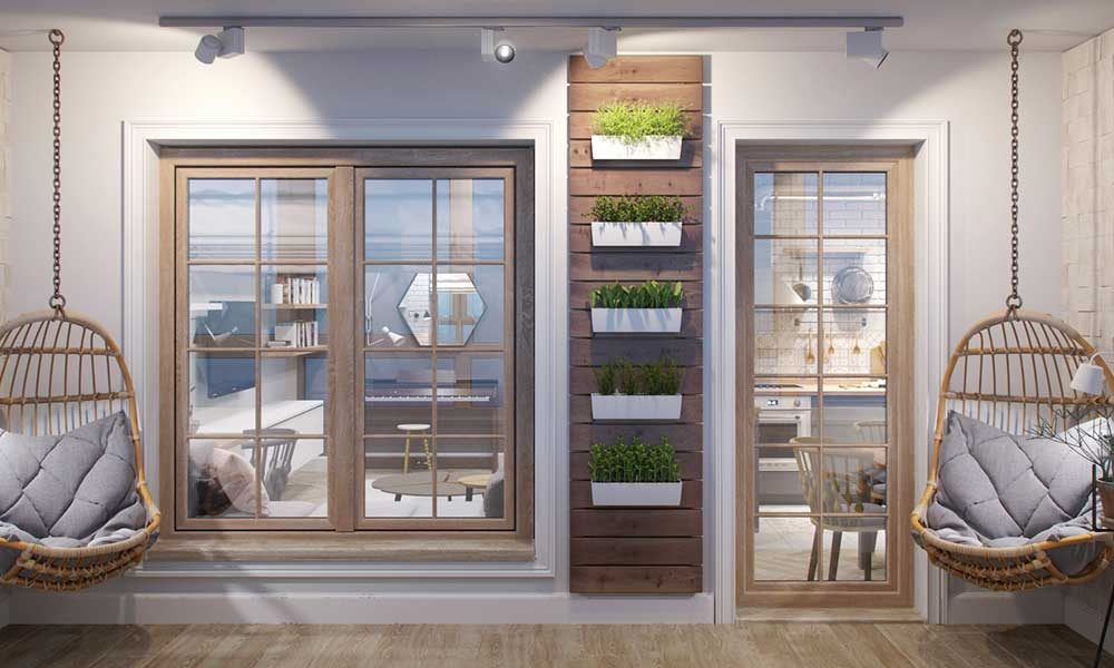 tiny apartment terrace design jl2 1000x600 - Amur Tiny Apartment Design