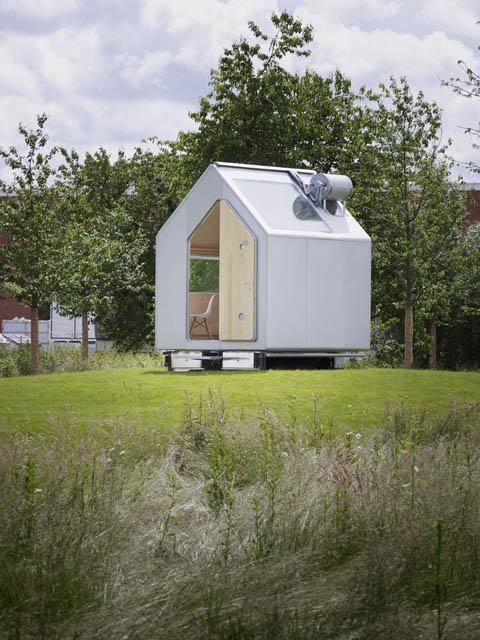 Minimalist Cabin diogene cabin: a tiny minimalist cabin - modern cabins