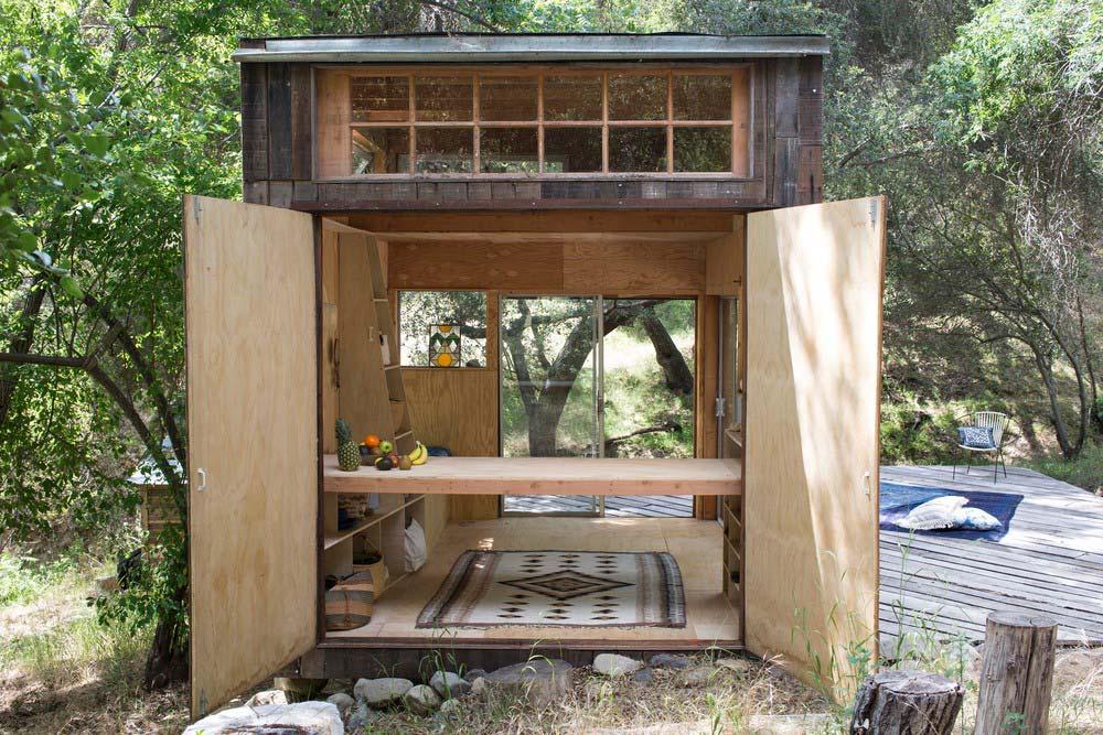 Topanga cabin modern cabins Tiny cabin
