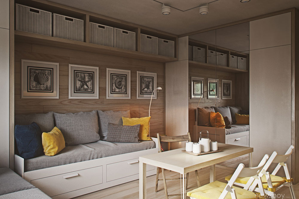 Tiny Cozy Apartment Small Spaces