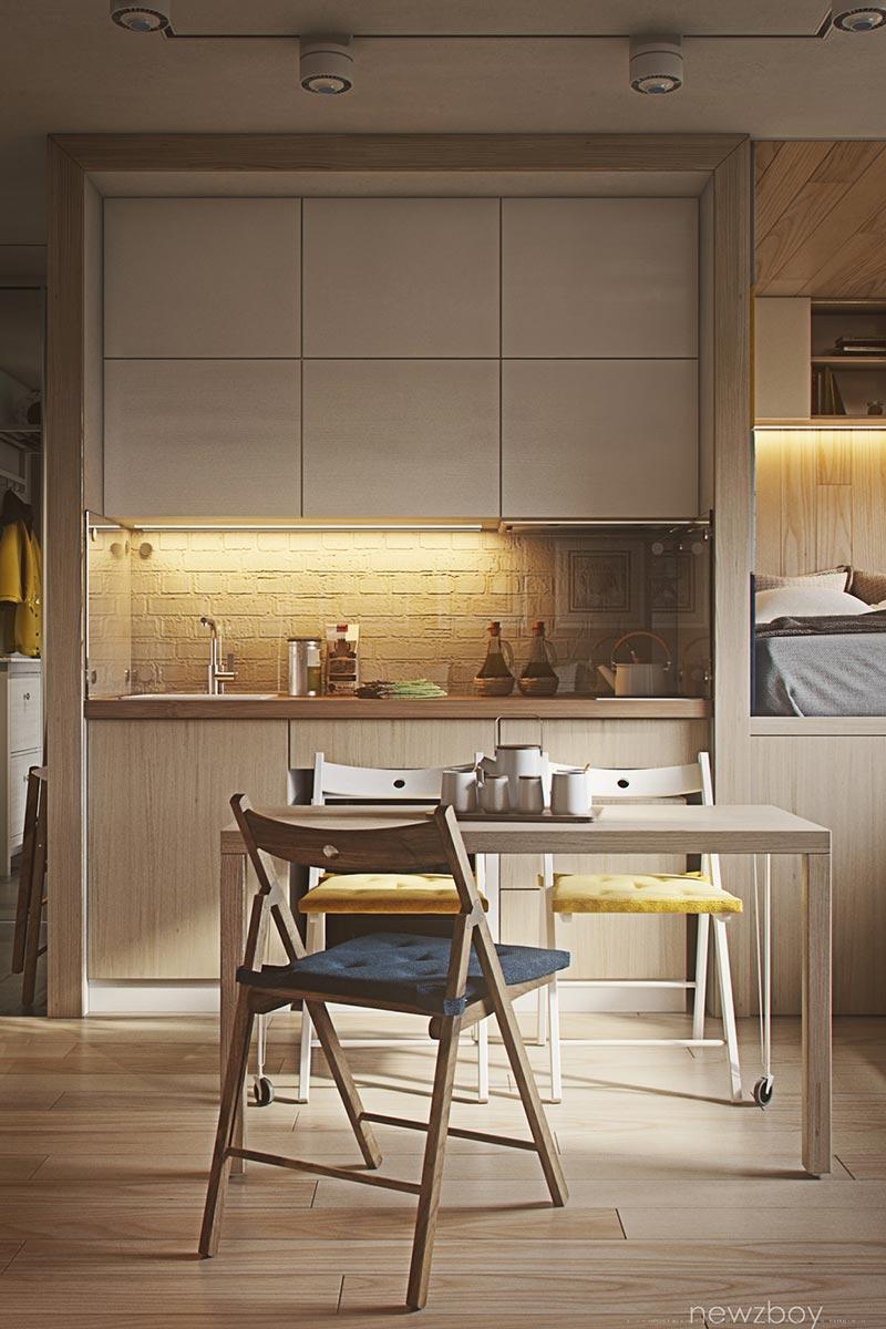 Tiny Cozy Apartment - Small Spaces