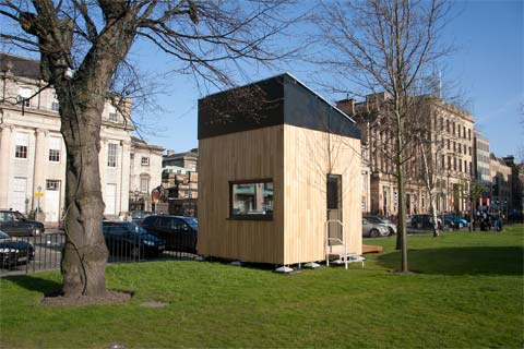 Awe Inspiring The Cube Project Tiny Eco Home Small Houses Largest Home Design Picture Inspirations Pitcheantrous