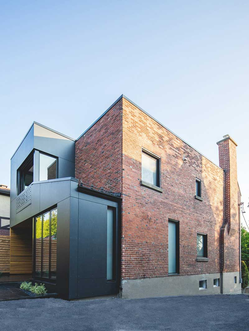 tiny extension townhouse side - BLACK BOX II