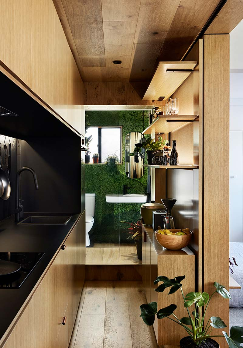 tiny home design bathroom td2 - Type St Apartment