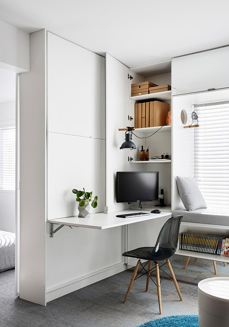tiny home design office storage td2 - Type St Apartment