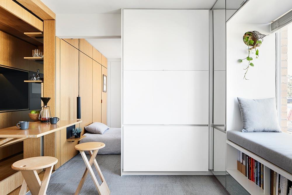 tiny home design tv storage td2 - Type St Apartment