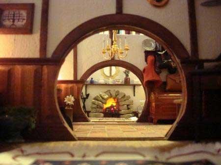 Bilbo Baggins Miniature Home Ever So Tiny Art Amp Decor