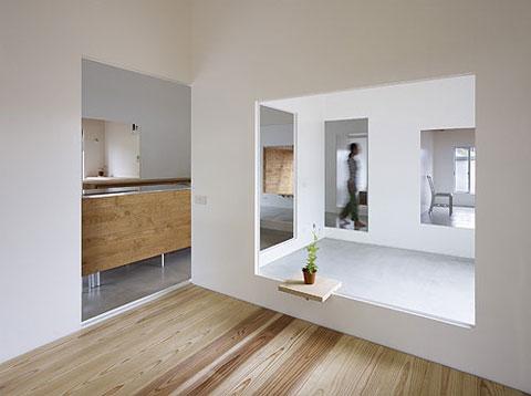 tiny house amagi 2 - House in Amagi: a framed introspective journey