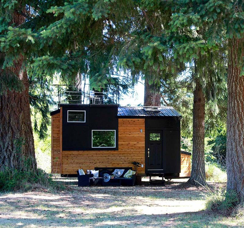 Tiny House Design Modern Small Living In Portland Oregon