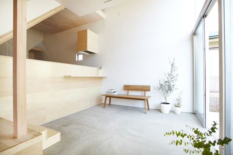 house h: y-shaped inhabitable forest - japanese architecture, small
