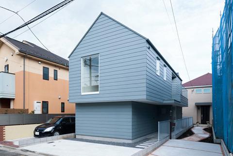 House In Tsurumaki Hexagon Rectangle A Home