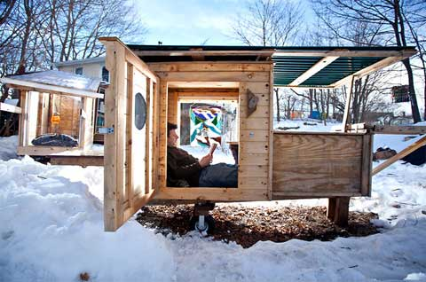 Tiny Houses Upcycled Junk Small Houses