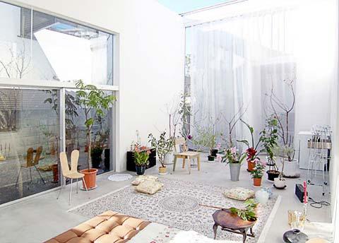 tiny japanese house garden 9 - House & Garden: mysterious vertical garden