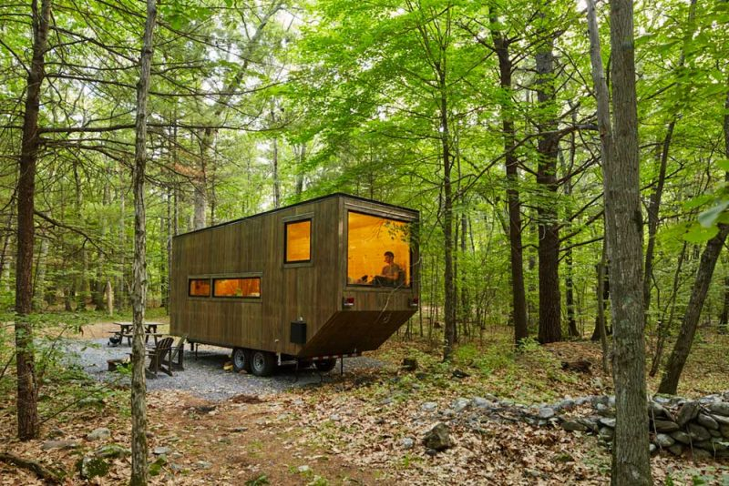 tiny modern cabins getaway7 800x534 - Getaway Tiny Houses