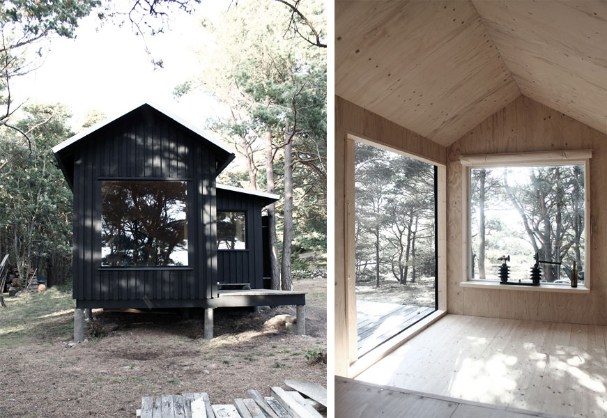 Ermitage Cabin A Tiny Back To Black Retreat Modern Cabins