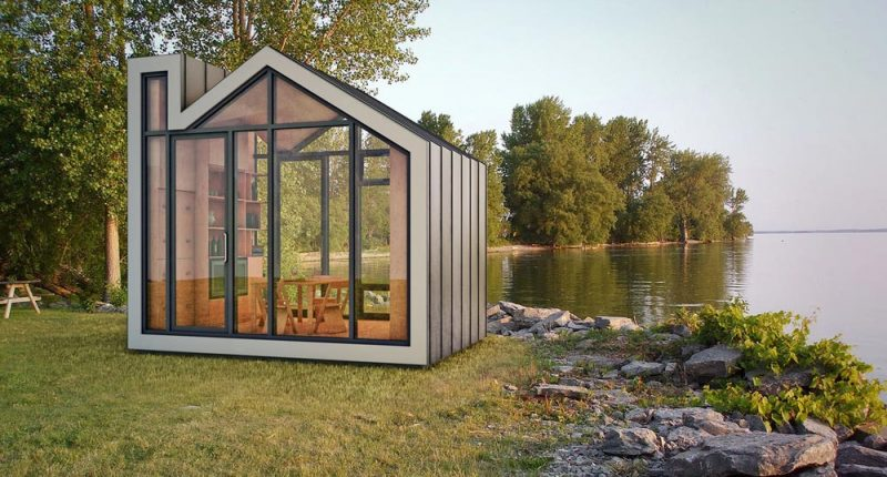 tiny prefab home bunkie1 800x430 - The Bunkie